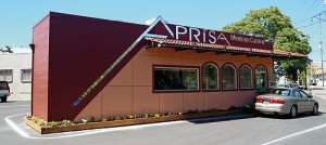 Restaurants pop up in shipping containers aprisa mexican for Aprisa mexican cuisine portland